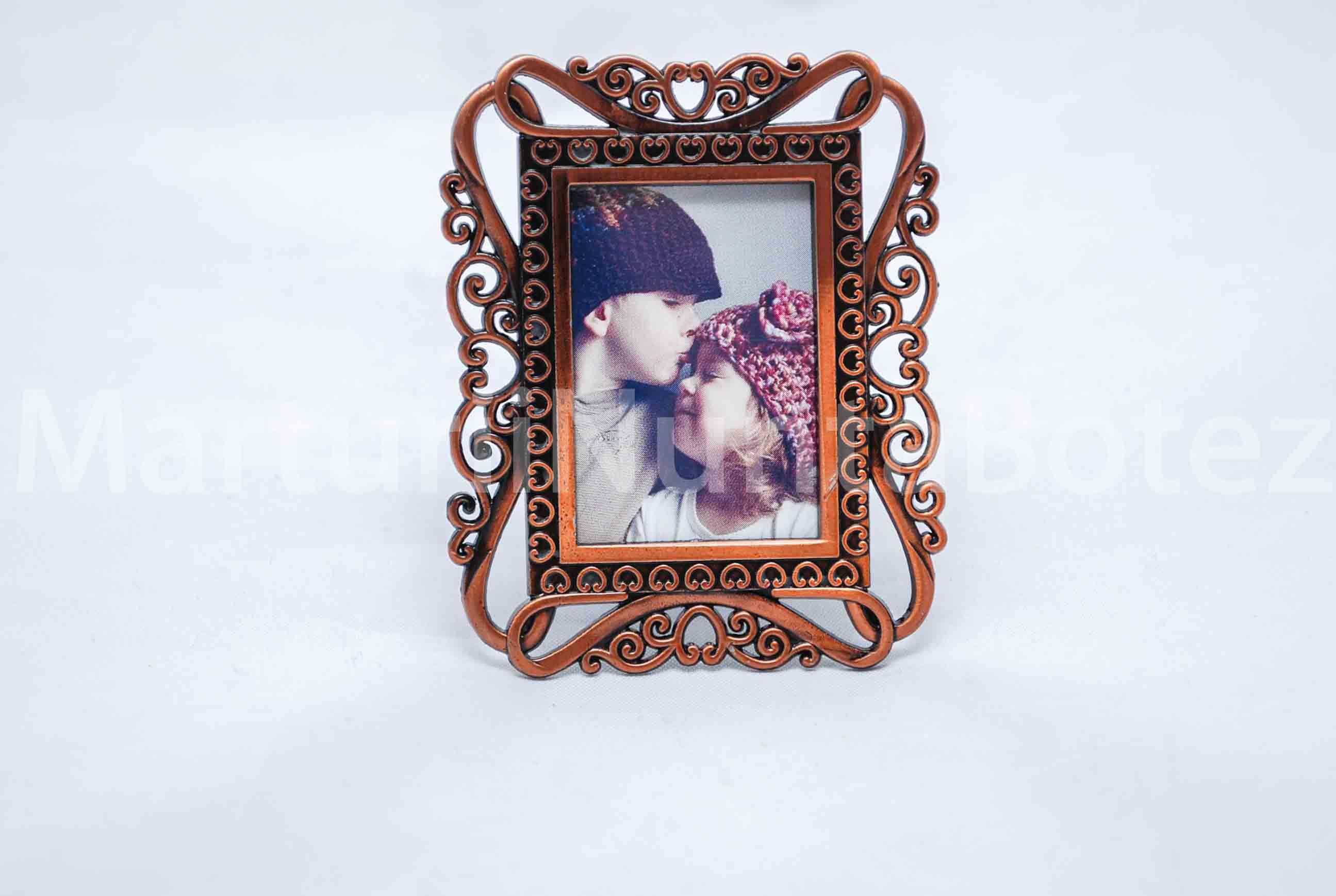 marturii_nunta_botez_rama_foto_metalica_dreptunghiulara_inima2