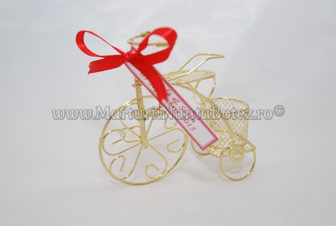 Marturie_nunta_bi cicleta_metalica_aurie_model_deosebit1